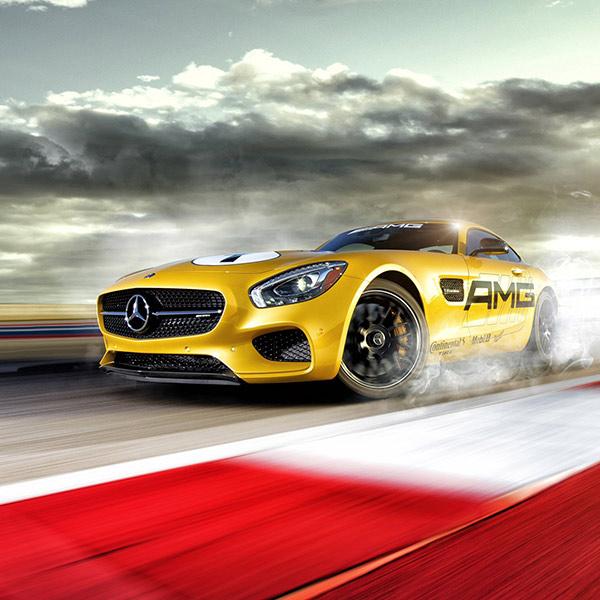 Mercedes Benz GTS Dubai Videographer