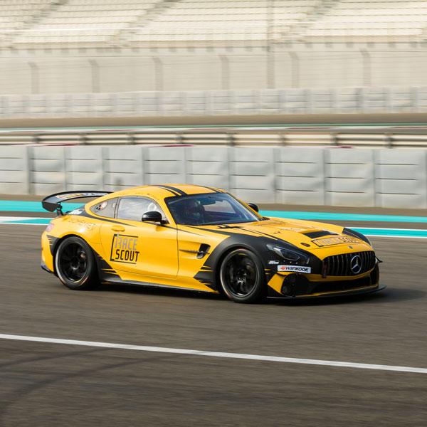 Mercedes Benz GT4 Dubai Videographer